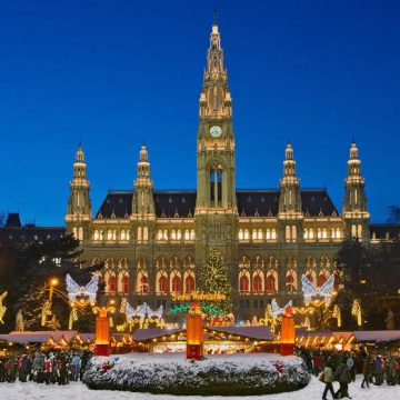 Christmas, Advent and Advent Calendar in Austria. Report from the city of Graz