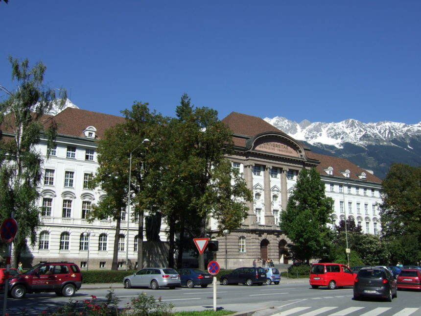 Universities of Austria. Tyrol