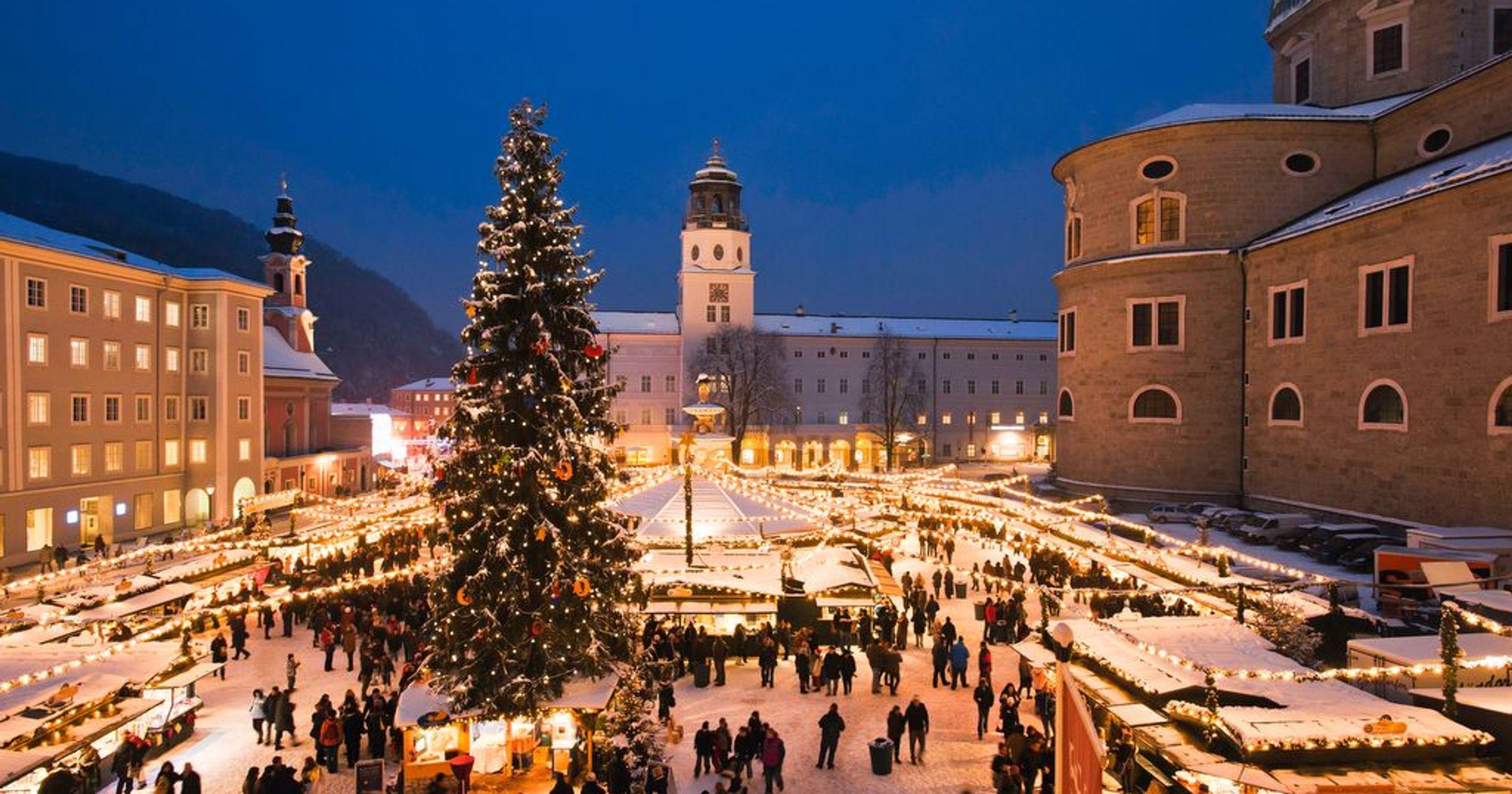 Рождество в Австрии Австрия Сегодня