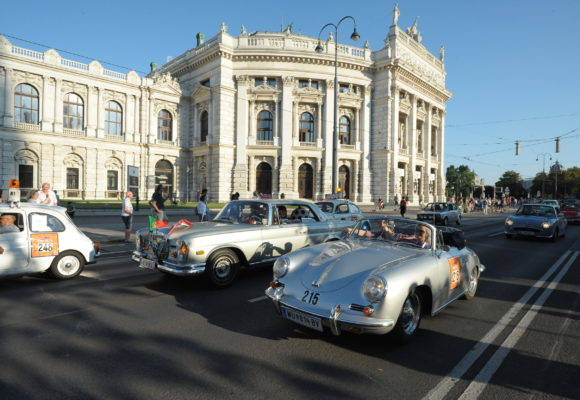Vienna, the waltz capital of the world, is turning into the city of antique cars